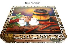 New  .Cuban Oil paintings Aroma on top  .The best