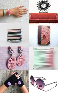 Thinking pink by Maria Grazia Pileggi on Etsy--Pinned with TreasuryPin.com