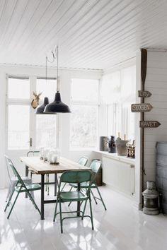 Interiores Creativos. Interiorismo, diseño y decoración vintage.: # Inspiración. Vivir con Vintage.