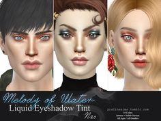Pralinesims' Melody of Water ~ Liquid Eyeshadow Tint | N20