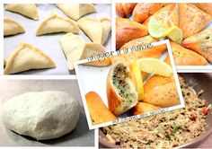 Fatayer ou fataya a la viande hachée et légumes, recette ramadan