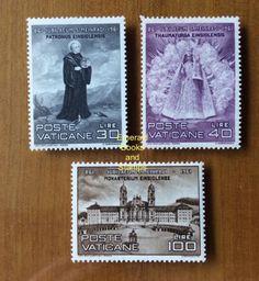EBS-Vatican-City-Citta-del-Vaticano-1961-St-Meinrad-of-Einsiedeln-298-300
