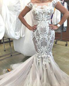 Leah Da Gloria Wedding Dresses With Straps Designer Couture Gowns