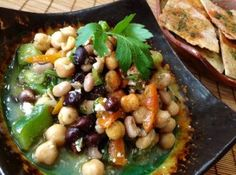 Middle Eastern inspired Chickpea Salad