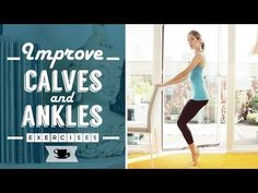 Barre Workout for Calves and Ankles | Lazy Dancer Tips - YouTube