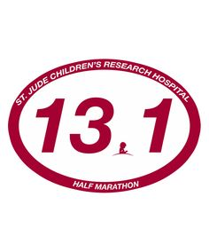 Buy a 13.1 Half Marathon Sticker from the St. Jude Gift Shop to celebrate your race as a St. Jude Hero. 100% of proceeds, after all related expenses, benefit St. Jude.
