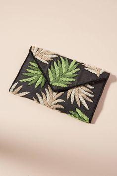 Discover unique Clutch Bags at Anthropologie, including the seasons newest arrivals. Beaded Clutch, Beaded Bags, Unique Handbags, Purses And Handbags, Potli Bags, Clutches For Women, Boho Bags, Jute Bags, Womens Purses