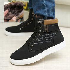 89e6e1761e5c Hot Men Shoes Sapatos Tenis Masculino Male Fashion Spring Autumn Leather  Shoe For Men Casual High