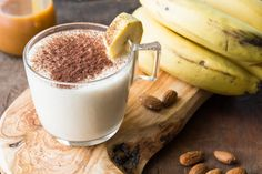 5 batidos para aumentar masa muscular Homemade Smoothies, Healthy Smoothies, Fitness Nutrition, Lunches And Dinners, Panna Cotta, Healthy Lifestyle, Cooking, Breakfast, Ethnic Recipes
