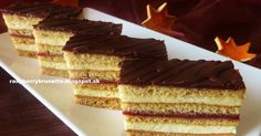 Slovak Recipes, Czech Recipes, Russian Recipes, Ethnic Recipes, Sweet Recipes, Cake Recipes, Hungarian Desserts, Layered Desserts, Paleo Sweets