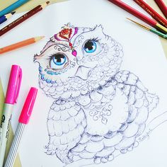 Free Printable Coloring Page Owl