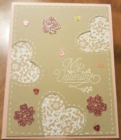 Heart Cut-Outs by bizzyoma44 - Cards and Paper Crafts at Splitcoaststampers