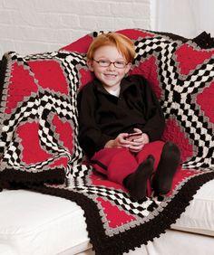 Race Car Throw Crochet Pattern