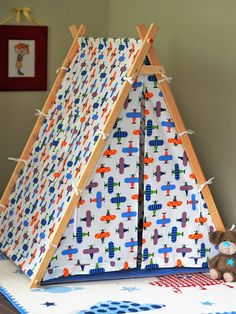 Cotton kids play tent with play mat, pillow and many more. 17 pcs set Cotton kids play tent with pla Diy Teepee, Kids Tents, Teepee Kids, Play Tents, Teepees, Pvc Tent, Decoration Creche, A Frame Tent, Deco Rose