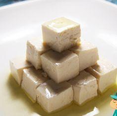 豆腐のオリーブオイル漬けの巻