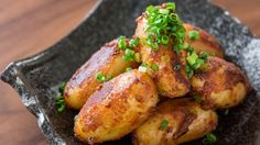 Try this spicy miso-glazed potatoes recipe made with butter, garlic, and chili paste. The miso coats the potatoes giving them a nice crunch.