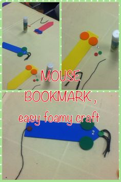 easy craft for toddlers , with foami pieces , yarn and googly eyes ...