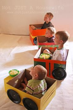 What a cute idea for a drive in theater. I have to remember this one. Definitely going to do this.