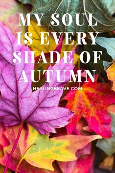 October is my favorite month. The colors, the cooler air but still sun on your skin, the #transformation that happens right in front of your eyes. Year after year, it's still a thing of #magic. So I wrote you some #October #affirmations to help you embrace the beauty of the season, the joy of being here, right now. #mindfulness #changingseasons #hope Self Development, Personal Development, Compassion Quotes, Welcome To The Group, Trust The Process, Self Acceptance, Self Love Quotes, Coping Skills, Optimism