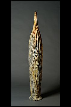 #sculpture #contemporaryceramics #art  #woodlike #treebark #naturaltexture Tree Bark, Contemporary Ceramics, Natural Texture, Sculpting, Vase, Wood, Home Decor, Whittling, Madeira