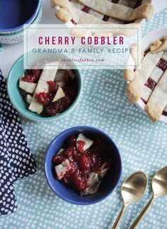 Cherry Cobbler Recip