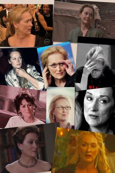 My reaction to other people meeting Meryl Streep...