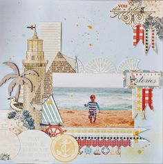 amazing layout by Evgenia for Tattered Angels