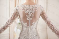 Find More Wedding Dresses Information about Long Sleeves Luxury Wedding Dress Mermaid See Through Back Boat Neck Lace Fitted Women Bridal Gown Available Plus Size,High Quality dress swim,China lace boutique dresses Suppliers, Cheap dresses with lace from Mengda Wedding Dress on Aliexpress.com