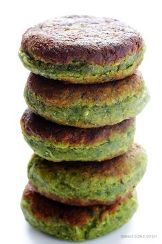This falafel recipe is full of fresh ingredients, easy to make, and irresistibly good!   gimmesomeoven.com