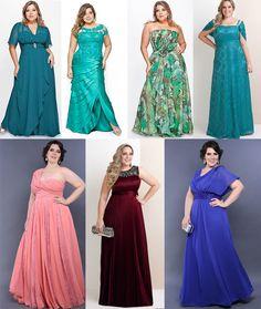 vestidos de festa plus size - Pesquisa Google