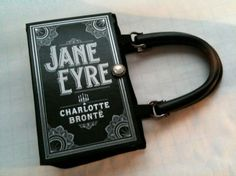 Purse made out of the Jane Eyre novel! This is one of my most favorite books. I think I should have this purse!