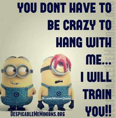 Yep my crazyness is teachable... lol!!