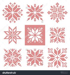 cross stitch bauble designs - Google Search
