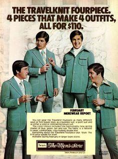 La mode pour homme des années 70  2Tout2Rien