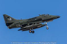 https://flic.kr/p/JhcXAY | Douglas A-4K Skyhawk | 155063 USN  N146EM  Draken International  Red Flag 16-2  Nellis AFB, NV USA