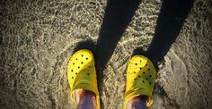 Mis #Crocs en el Pacífico Sur!  Near the #GreatBarrierReef. #Australia