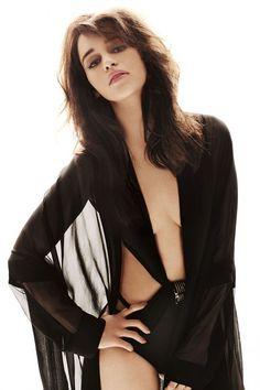 Image result for emilia clarke lingerie