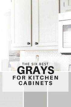Top gray paint colors for kitchen cabinets - here are the six best paints for gray kitchen cabinets. kitchen cabinet The Six Best Paint Colors for Gray Kitchen Cabinets Best Kitchen Cabinets, Grey Cabinets, Painting Kitchen Cabinets, Kitchen Countertops, Soapstone Kitchen, Grey Painted Kitchen Cabinets, Kitchens With Gray Cabinets, How To Paint Kitchen Cabinets, Best Paint For Kitchen