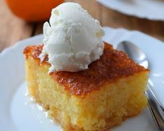 Greek Sweets, Greek Desserts, Greek Recipes, Vanilla Cake, Tart, Cheesecake, Deserts, Food And Drink, Dessert Recipes
