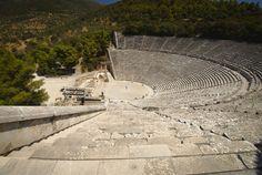 Greca e Romana: Teatro greco di Epidauro - III sec. a.C.