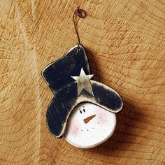 Snowman Tree Decoration  £5.50
