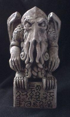 Cthulhu Idol by ItsInTheTrees on Etsy <3 https://en.wikipedia.org/wiki/Cthulhu