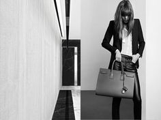 Yves Saint Laurent - Saint Laurent Permanent and Accessories Campaign 2013/In this picture:Freja Beha Erichsen