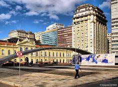 Estação Mercado - POA - RS - Brasil. Olha, meu amorzinho.aquele lugar q vc gosta