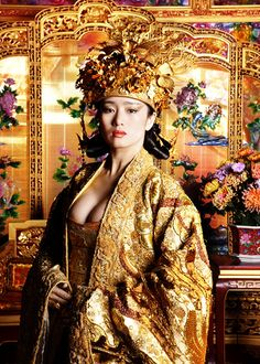 Gong Li in 'Curse of the Golden Flower' (2006).