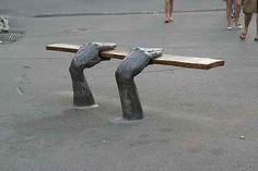 Artistic bench