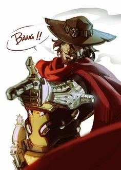Jesse McCree by ET.M,  beatiful ! ~♡