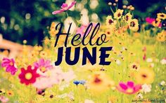 'Pinch, Punch first day of the month!' #HelloJune #FirstDayOfJune