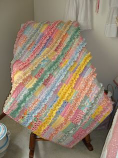 Just Quilts: Baby Quilt (cute for a little girl, but practical?)