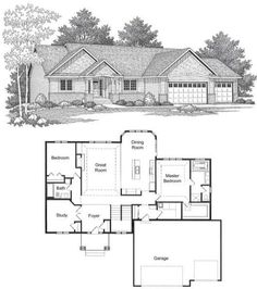 4 bedroom rambler floor plan ramblers yorkshire